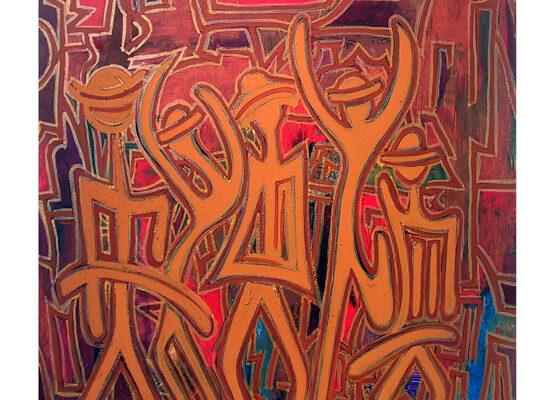 Convergences_.2007.acrylique_sur_toile.100x100cm